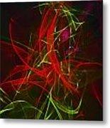 Liquid Saphire 7 Metal Print by Cyryn Fyrcyd