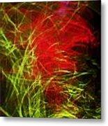 Liquid Saphire 8 Metal Print by Cyryn Fyrcyd