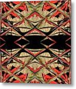 Lit0911001008 Metal Print by Tres Folia