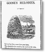 Little Boy Blue, 1833 Metal Print by Granger