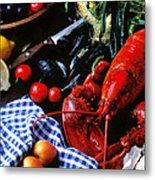 Lobster Metal Print by Garry Gay