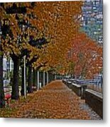 Locarno In Autumn Metal Print by Joana Kruse