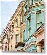London Houses Metal Print by Tom Gowanlock