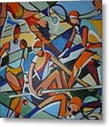 London Olympics Inspired Metal Print by Michael Echekoba