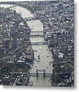 Londres, London Metal Print by Mono Andes