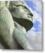 Look To The Sky - R Metal Print by Mike McGlothlen