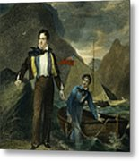 Lord Byron Metal Print by Granger