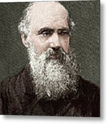 Lord Kelvin, Scottish Physicist Metal Print by Sheila Terry