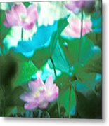 Lotus--ethereal Impressions II 20a1 Metal Print by Gerry Gantt