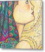Love  Came Down At Christmas Metal Print by Michele Hollister - for Nancy Asbell