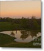 Loving The Sunset Metal Print by Cris Hayes