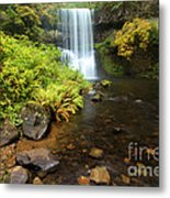 Lower South Falls Metal Print by Adam Jewell