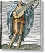 Lute, 1723 Metal Print by Granger
