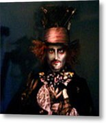 Mad Hatter Metal Print by Alessandro Della Pietra