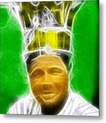 Magical Babe Ruth Metal Print by Paul Van Scott