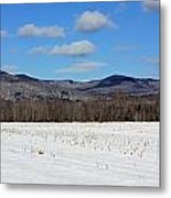 Maine Mountains Metal Print by Becca Brann