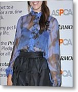 Mandy Moore In Attendance For Aspca Metal Print by Everett