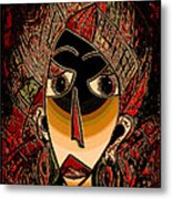 Marali Metal Print by Natalie Holland