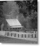 Mariah Wright House Appomattox Virginia Metal Print by Teresa Mucha