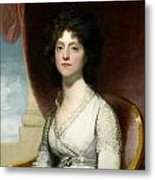 Marianne Ashley Walker Metal Print by Gilbert Stuart