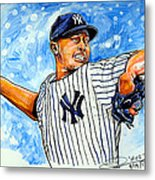 Mariano Rivera Metal Print by Dave Olsen