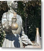 Marie Curie, Polish-french Physicist Metal Print by Sheila Terry
