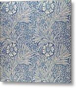 Marigold Wallpaper Design Metal Print by William Morris
