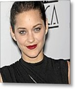 Marion Cotillard At Arrivals For Los Metal Print by Everett