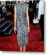 Marion Cotillard Wearing An Elie Saab Metal Print by Everett