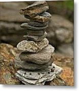 Mark The Trail Metal Print by Paul Mangold