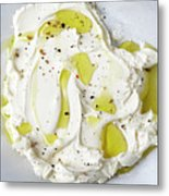 Mascarpone Cheese Metal Print by James And James