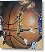 Masters Of The Game Metal Print by Billy Leslie