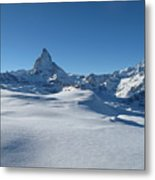 Matterhorn, Switzerland Metal Print by Thepurpledoor