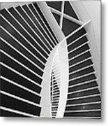 Meet Me Under The Stairs Metal Print by Anna Villarreal Garbis