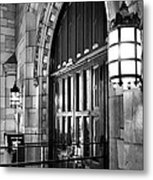 Memorial Hall Entrance Metal Print by Steven Ainsworth