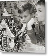Memories Of A Special Christmas Metal Print by Christine Till