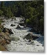 Merced River In Yosemite Metal Print by Tim Mulina