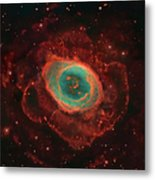 Messier 57, The Ring Nebula Metal Print by Robert Gendler
