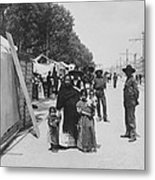 Mexico City - Alameda During Holy Week - C 1906 Metal Print by International  Images