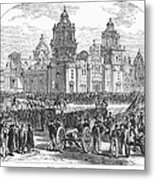 Mexico City, 1847 Metal Print by Granger