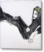 Michael Jackson - Turn It On Metal Print by Hitomi Osanai
