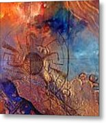 Middle Sky On The Suns Road Metal Print by Dayton Claudio