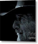 Midnight Cowboy Metal Print by Christine Till
