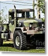 Military Truck Metal Print by Blink Images