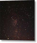 Milky Way Starfield Metal Print by Alan Sirulnikoff