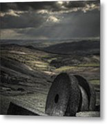 Millstones Metal Print by Andy Astbury