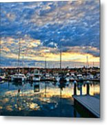 Mindarie Sunrise Metal Print by Imagevixen Photography