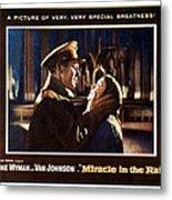 Miracle In The Rain, Van Johnson, Jane Metal Print by Everett