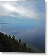 Mirror Clouds Metal Print by Ty Helbach