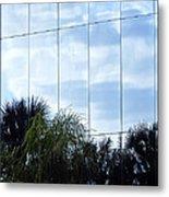 Mirrored Facade 1 Metal Print by Stuart Brown
